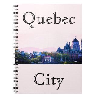 Cadernos Espiral Cidade de Quebec simples