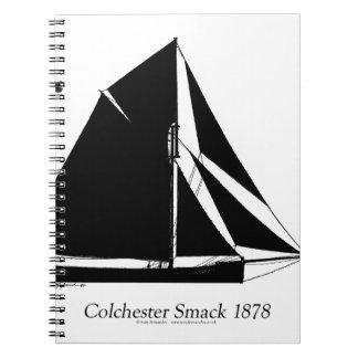 Cadernos Espiral Colchester 1878 Smack - fernandes tony
