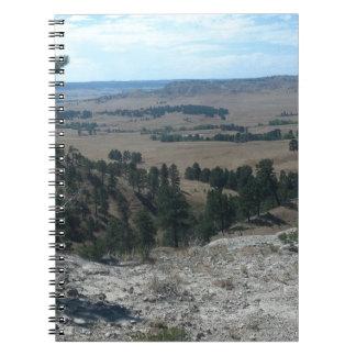 Cadernos Espiral Colinas altas do deserto