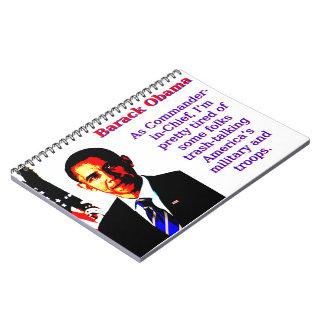 Cadernos Espiral Como o comandante-chefe - Barack Obama