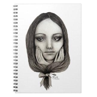 Cadernos Espiral Como uma boneca