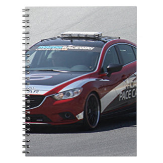 Cadernos Espiral Competência de carro de esportes auto