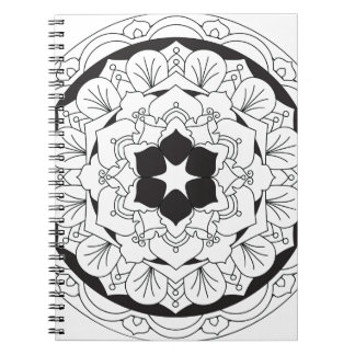 Cadernos Espiral Cor-Seu-Própria mandala floral 060517_4