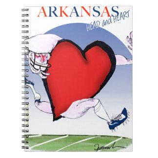 Cadernos Espiral coração principal de arkansas, fernandes tony