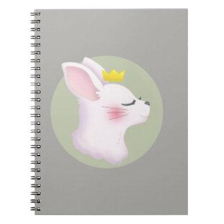 Cadernos Espiral Coroa do coelho