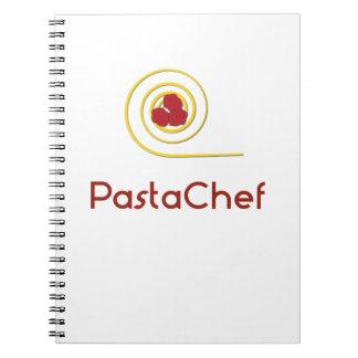 Cadernos Espiral Cozinheiro chefe da massa
