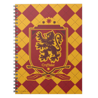 Cadernos Espiral Crista de Harry Potter | Gryffindor QUIDDITCH™