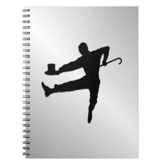 Cadernos Espiral Dançarino de torneira