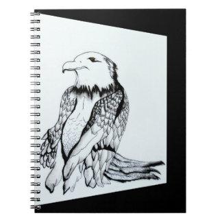 Cadernos Espiral Deixe-nos rapinar Eagle