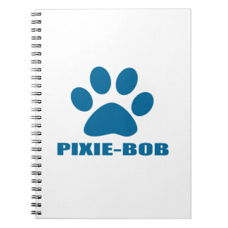 CADERNOS ESPIRAL DESIGN DO CAT DE PIXIE-BOB