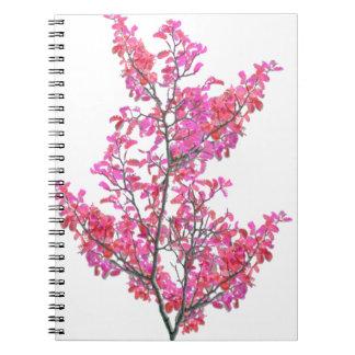 Cadernos Espiral Design floral bonito colorido