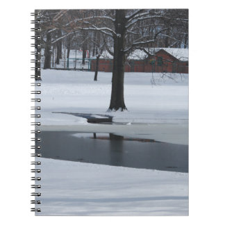 Cadernos Espiral Dia da neve