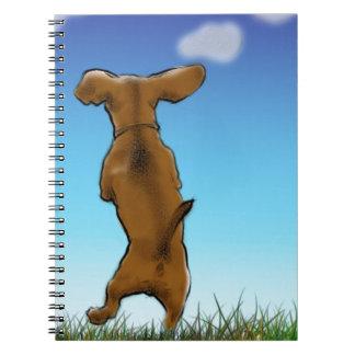 Cadernos Espiral Doxie de salto