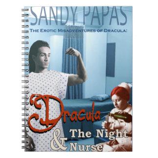 Cadernos Espiral Dracula e a enfermeira de noite