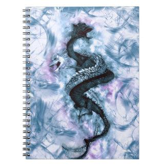 Cadernos Espiral Dragão dobro 4
