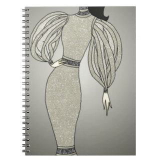 Cadernos Espiral Duquesa de prata