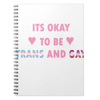 Cadernos Espiral É aprovado ser o transporte e o gay (v4)