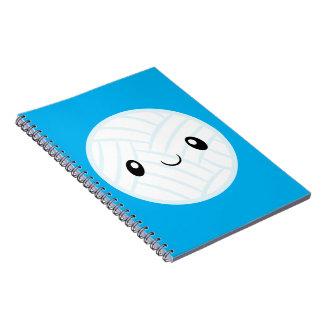 Cadernos Espiral Emoji Volleyabll