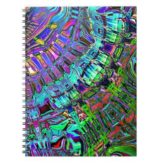 Cadernos Espiral Espectro abstrato das formas