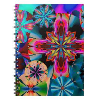Cadernos Espiral Estrela de noite