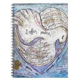 Cadernos Espiral Eu ofereço a paz