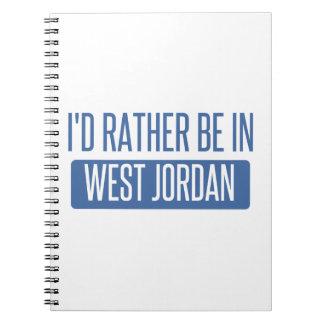 Cadernos Espiral Eu preferencialmente estaria em Jordão ocidental