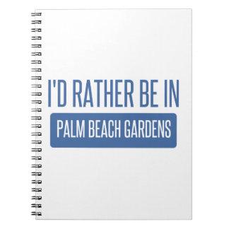 Cadernos Espiral Eu preferencialmente estaria em Palm Beach Gardens