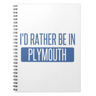 Cadernos Espiral Eu preferencialmente estaria em Plymouth