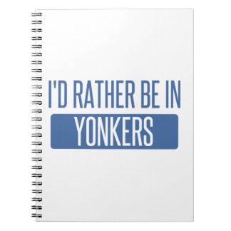Cadernos Espiral Eu preferencialmente estaria em Yonkers