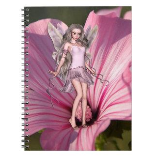 Cadernos Espiral Fada da flor