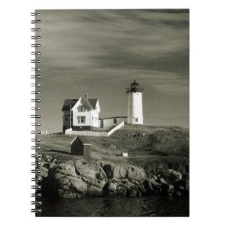Cadernos Espiral Farol em Maine