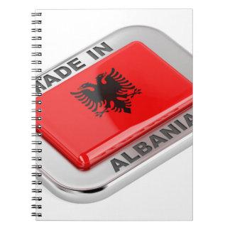 Cadernos Espiral Feito em Albânia