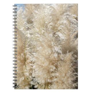 Cadernos Espiral Fim-Acima de penas altas da grama de Pampas