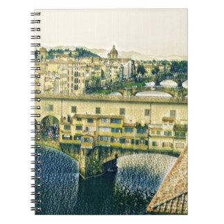 Cadernos Espiral Florença na arte