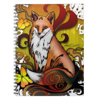 Cadernos Espiral Fox exterior