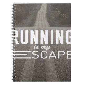 Cadernos Espiral Funcionar é meu escape