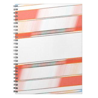 Cadernos Espiral fundo da textura e do abstrato
