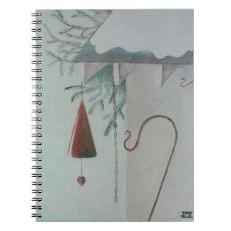 Cadernos Espiral Gancho e carrilhão
