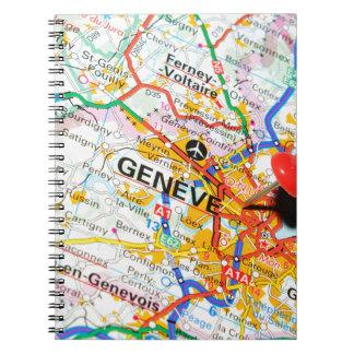 Cadernos Espiral Geneve, Genebra, suiça