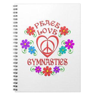 Cadernos Espiral Ginástica do amor da paz