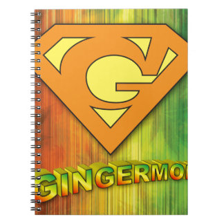 Cadernos Espiral Gingermon
