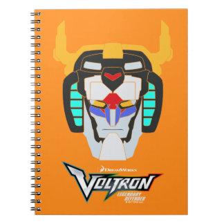 Cadernos Espiral Gráfico principal colorido | de Voltron Voltron
