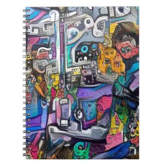 Cadernos Espiral Grupo de rock abstrato