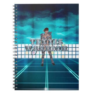 Cadernos Espiral Guerreiro SUPERIOR do tênis