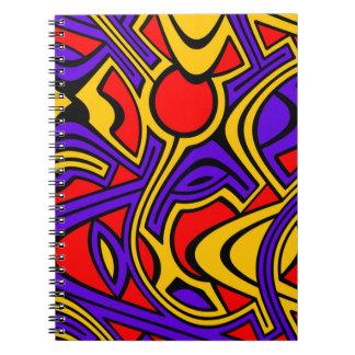 Cadernos Espiral Harlequin