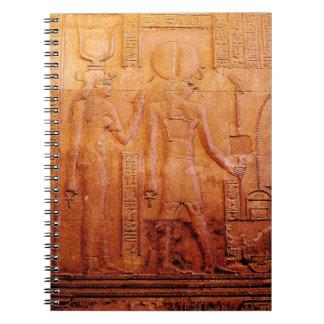Cadernos Espiral Hieroglyphics