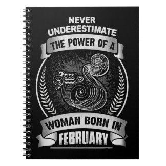 Cadernos Espiral Horóscopo fevereiro