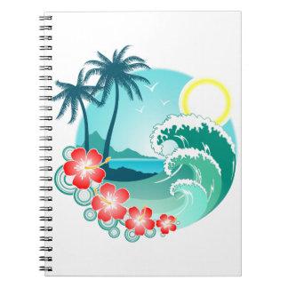 Cadernos Espiral Ilha havaiana 2