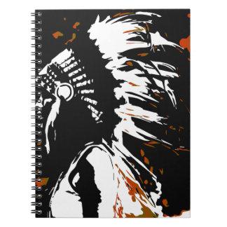 Cadernos Espiral Indiano do nativo americano