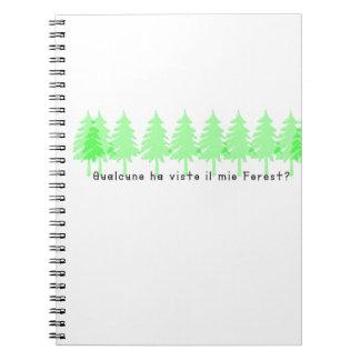 Cadernos Espiral Italiano-Forrest